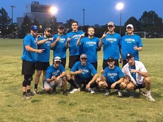 2019 Men's Softball Champions