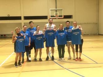 2019 Coed Basketball 5's Champions