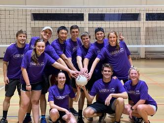 2019 Coed Volleyball Champions