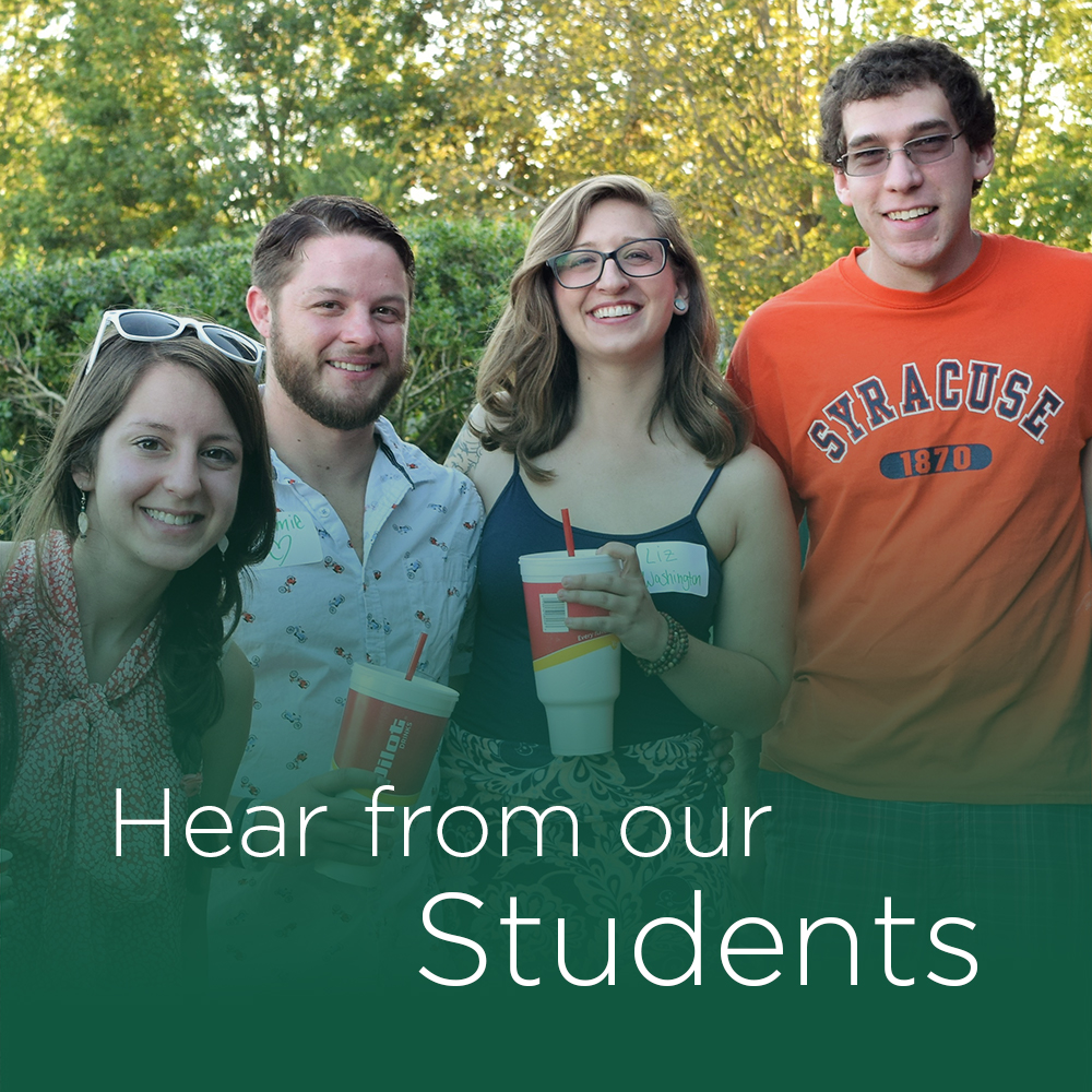 hear from our students