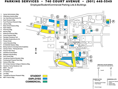 small parking lot map image