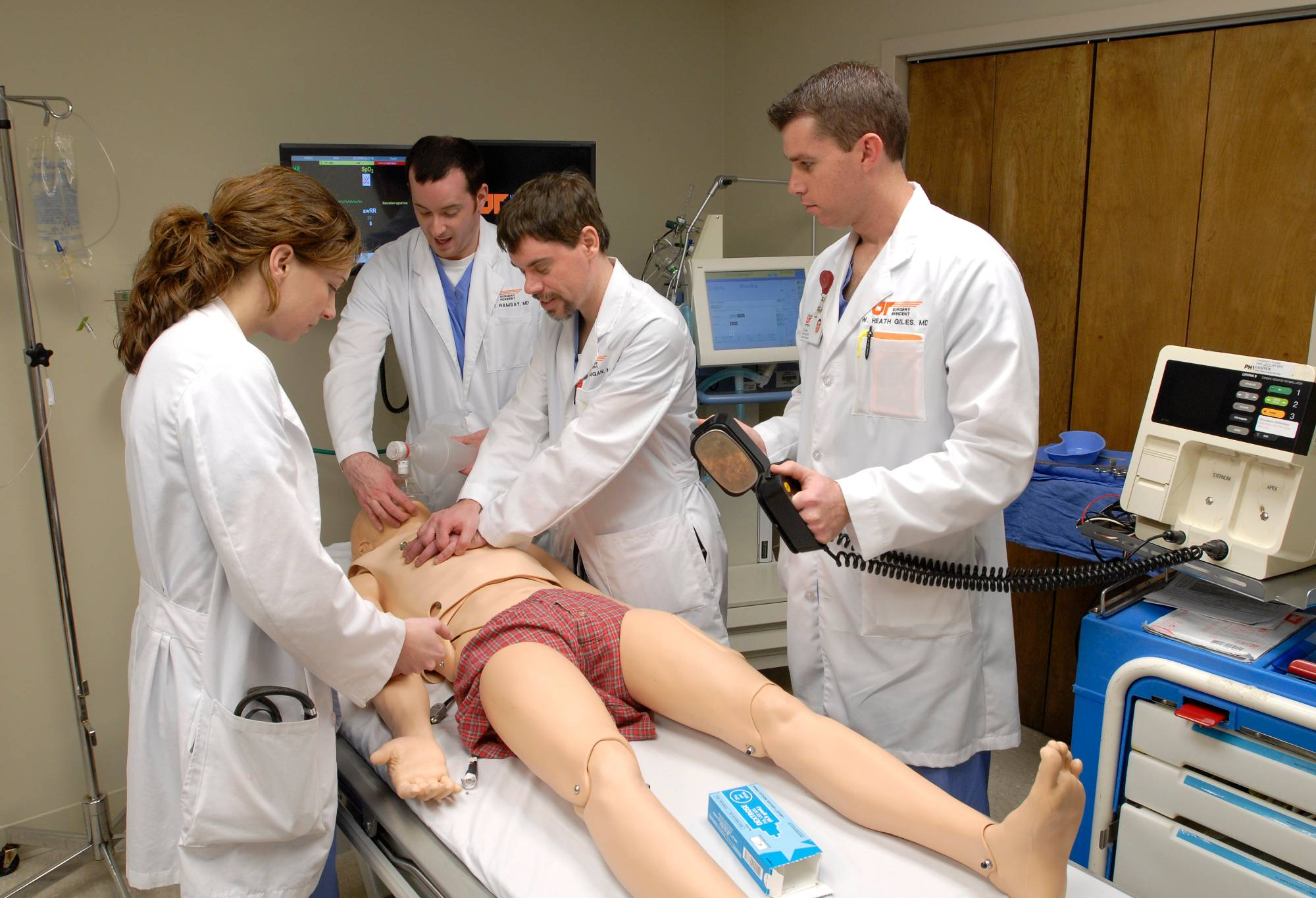 Surgical Simulation Training in the Simulation Center
