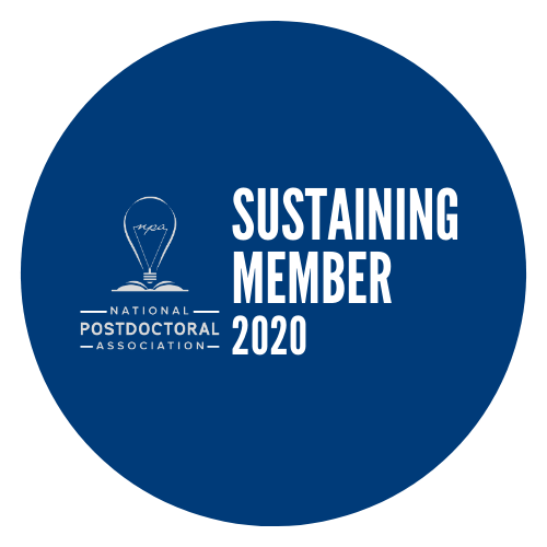 logo for the national postdoctoral association