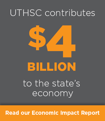 UTHSC contributes $4 billion to the state's economy.