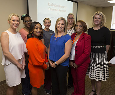 Nurses who won grants pictured