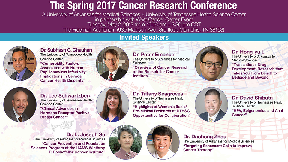 cancer conference speakers