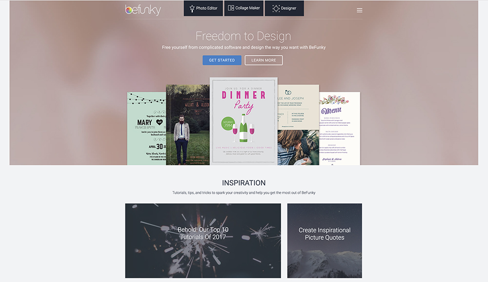 befunky is a free photo editor collage maker and project designer modify images create collages and design posters flyers all for free